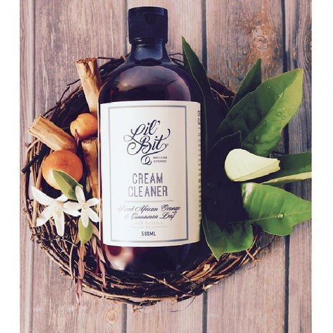 Lil'Bit Sweet African Orange & Cinnamon Leaf Cream Cleaner 500ml