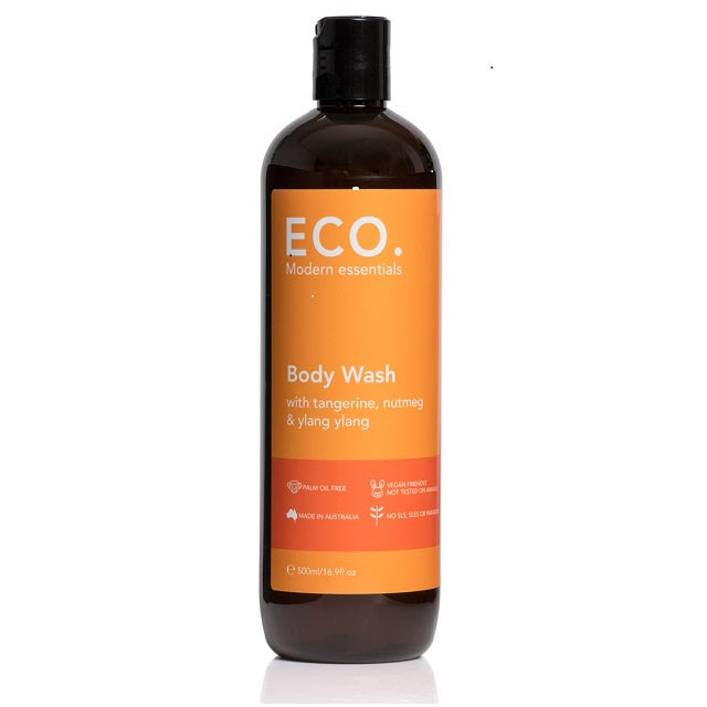 Body Wash with Tangerine, Nutmeg & Ylang Ylang 500ml