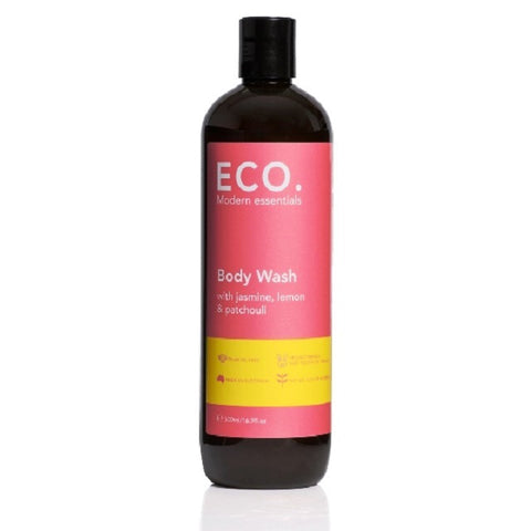 Body Wash with Jasmine, Lemon & Patchouli 500ml