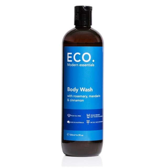 Body Wash with Rosemary, Mandarin & Cinnamon 500ml