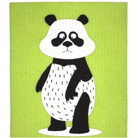 Retro Kitchen 100% Biodegradable Kitchen Sponge - Panda