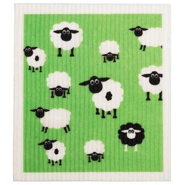 Retro Kitchen 100% Biodegradable Kitchen Sponge - Sheep