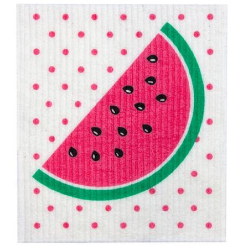 Retro Kitchen 100% Biodegradable Kitchen Sponge - Watermelon