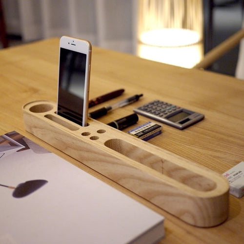 Wood Pen Phone Stand