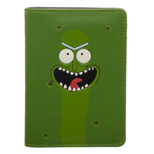 Rick & Morty Mr Pickle Vertical Bi-Fold Wallet