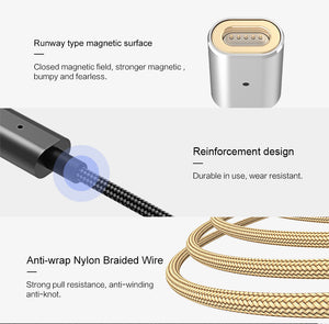 USAMS 2A/5V Magnetic Charger Cable for iPhone or Android