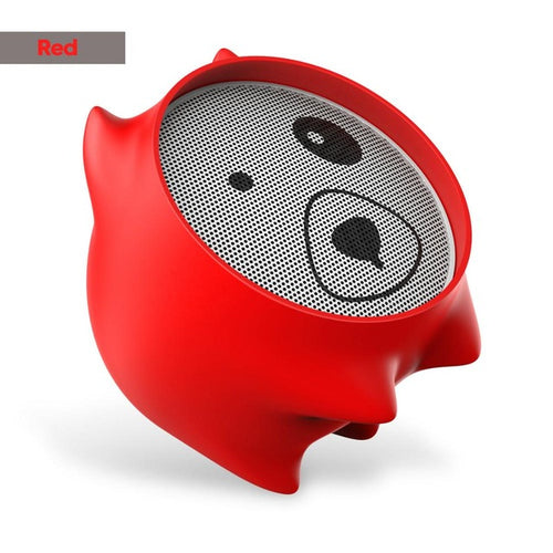 Portable Mini Hound Bluetooth Speaker