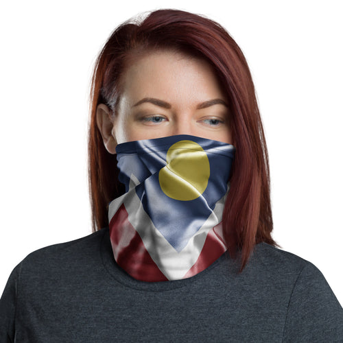 Reusable CO Flag Face Mask