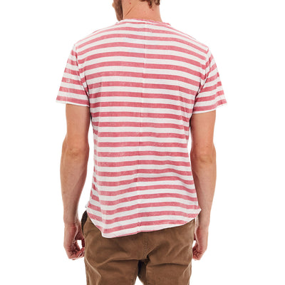 PX // Mason Long Curved Tee (Red)