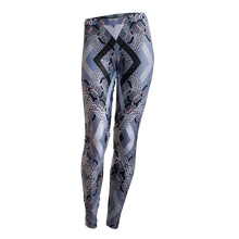 Load image into Gallery viewer, Abstract Geo leggings - Blue