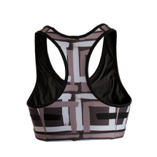 Load image into Gallery viewer, Paintbrush sports bra
