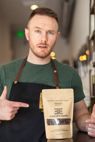 Shane Mulligan Elysian Coffee Roasters Founder