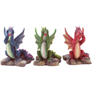 See Hear Speak No Evil Dragon Set