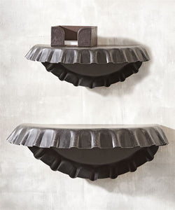 Iron Bottle Cap Shelves
