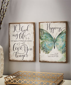 Burlap Wall Prints