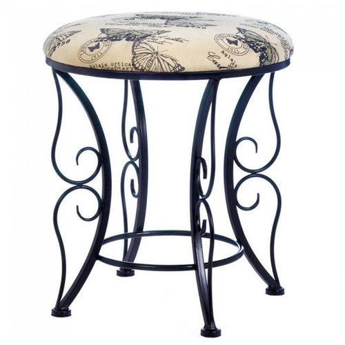 Butterfly Printed Stools