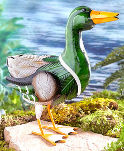 Colorful Metal Duck
