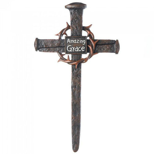 Amazing Grace Crown of Thorns Cross