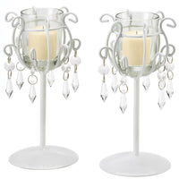 Crystal Drop Goblets