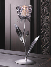 Diamond Flower Candle Holder