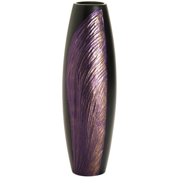 Dragonfly Wing Decorative Wood Vase
