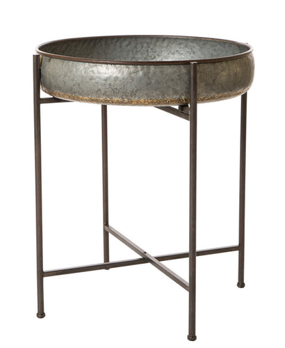 Galvanized Tray Tables