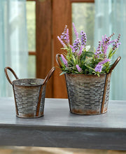 Galvanized Baskets