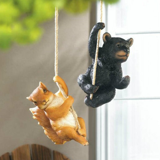 Hanging Squirrel or Bear