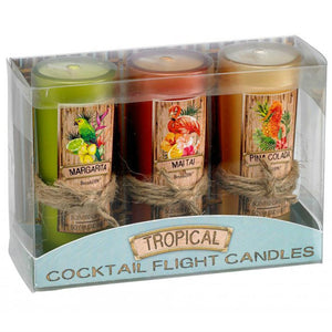 Tropical Cocktail Flight Candles
