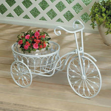 Tricycle Plant Stands in Iron or White