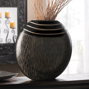 Wooden Tribal Decorative Vase