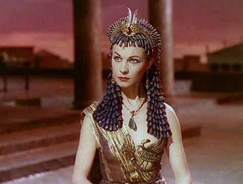 Actress Vivien Leigh in the 1945 film Anthony and Cleopatra