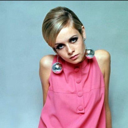 1960s image of the model Twiggy