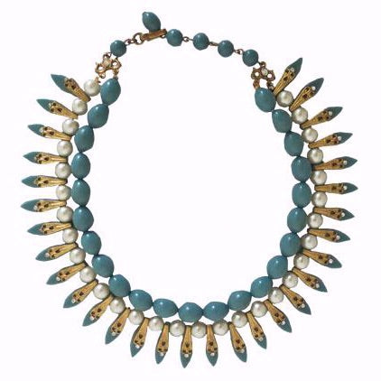 A 1940s Miriam Haskell necklace