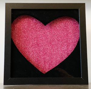 shadow box - heart