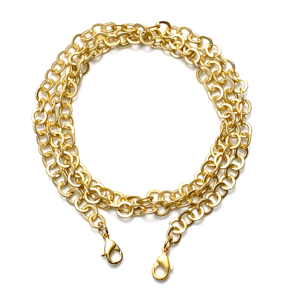 mask chain - gold rolo
