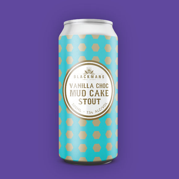 -PRE SALE JULY-     VANILLA CHOC MUD CAKE STOUT!