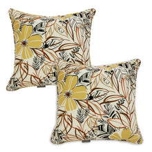 Set of 2 Bossima Floral Outdoor Scatter Cushion Pad