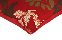 Water Resistant Floral Outdoor Scatter Cushion Pad - Red