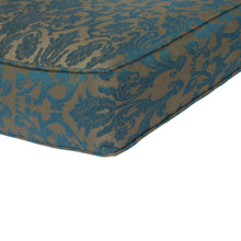 Bossima Australia Outdoor Cushion with Button Set - Blue Damask