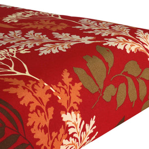 Water Resistant Seat Pads - Red Floral