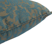 Outdoor Water Resistant Cushions - Blue Damask