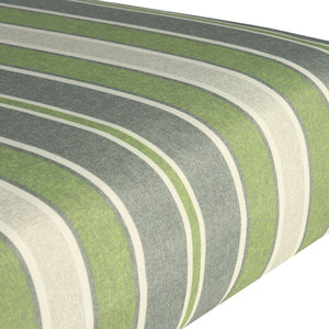 Stain Resistant Deep Seat Cushion Pad - Green Striped