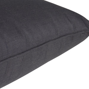 Affair Deep Seat Cushion Set - Black/Grey