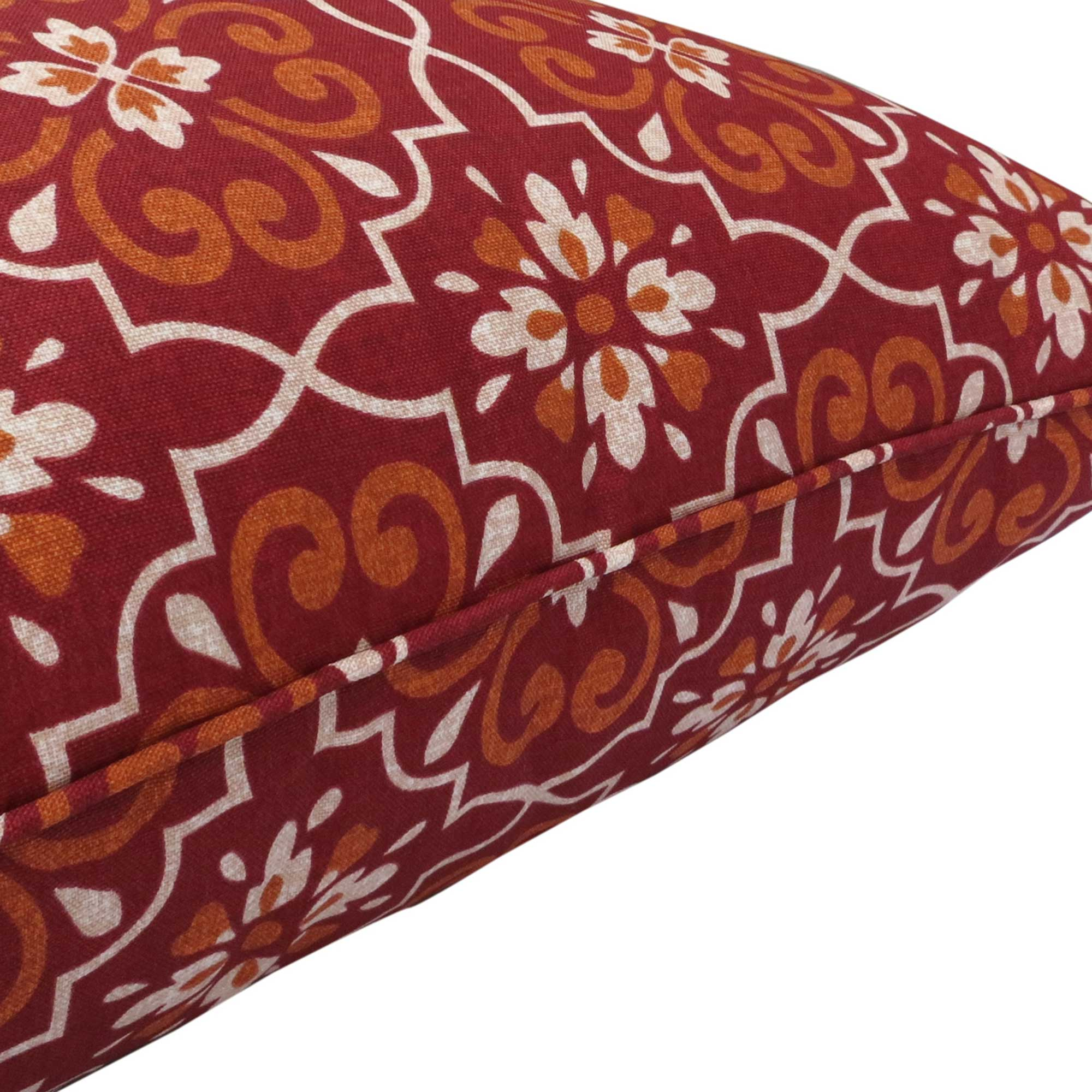 affair deep seat cushion set red damask bossima australia