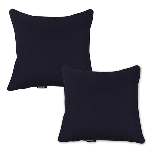 Atlantic Outdoor Sunbrella Scatter Cushions (Set of 2 ) - Navy