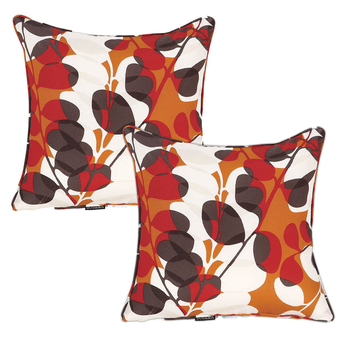 Cancun Outdoor Scatter Cushions - Floral (Set of 2 )