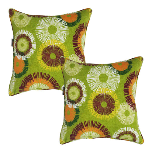 Fireworks Bossima Outdoor Scatter Cushions (Set of 2 )
