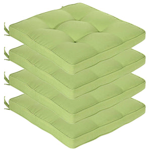 Cabana Outdoor Seat Pad Cushion - Kiwi Green (Set of 4)