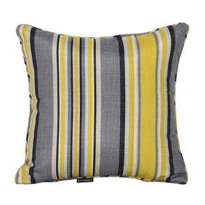 Rio Outdoor Striped Scatter Cushions - Yellow